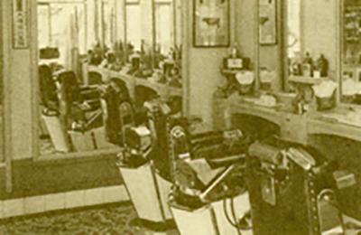 昭和30年代当時の店内