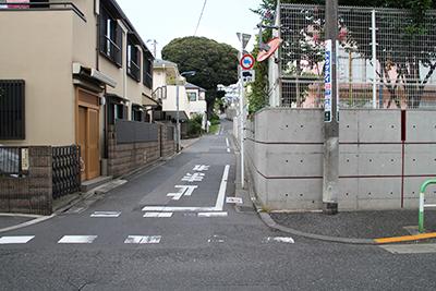 JR駒込駅東口からのルート